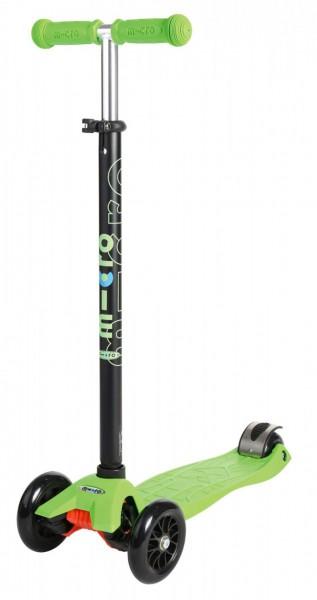 Kickboard Maxi Micro grün mit T-Lenker