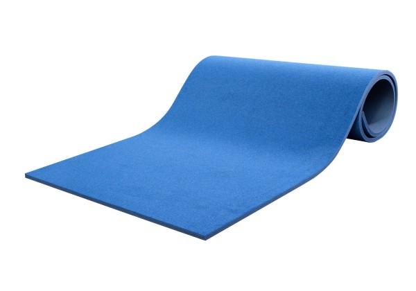 Bodenturnmatte Schule und Verein blau