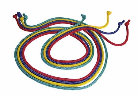 Gymnastik Springseil 250cm (10er Set)