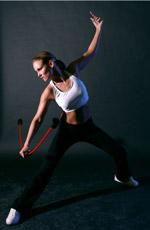 Training Flexi-Bar Rücken