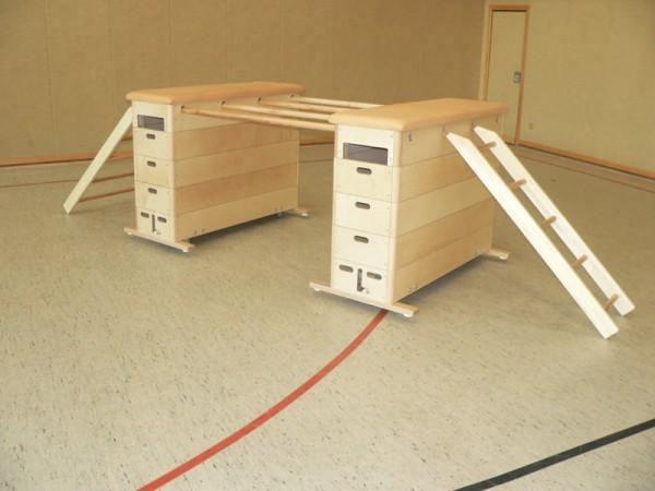 Vario-Maxi Sprungkasten-Set Multiplex/Leder