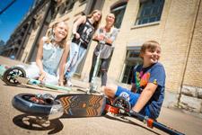 Cityroller & Kickboards Familien-Sets