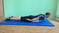Pilates-Training Swan Dive