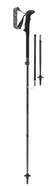 Leki Faltstock Black Series MVC