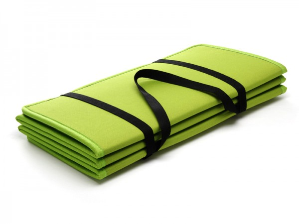 Yogamatte Faltmatte IVY Grün