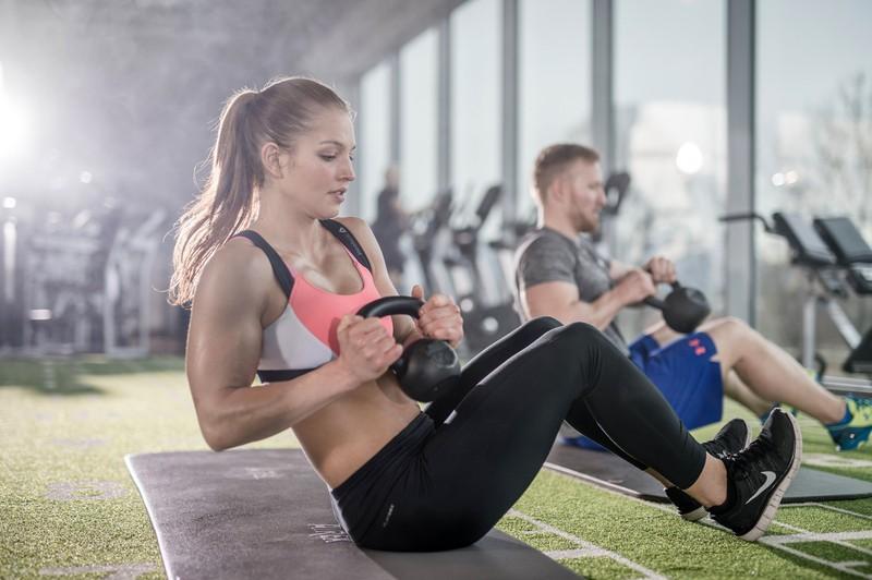Fitnessequipment für Frauen