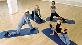 Gymnastikmatten Fitness und Gesundheit
