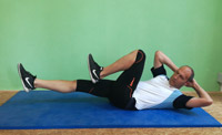 Pilates-Training Criss-Cross