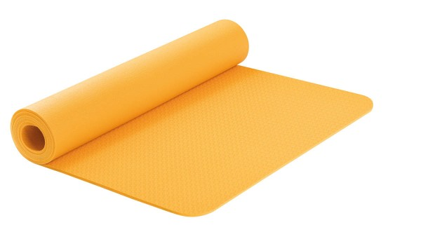 Yogamatte Airex Calyana Pro dahliengelb