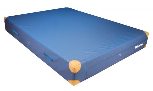 Weichbodenmatte mit Lederecken 300x200x30 cm