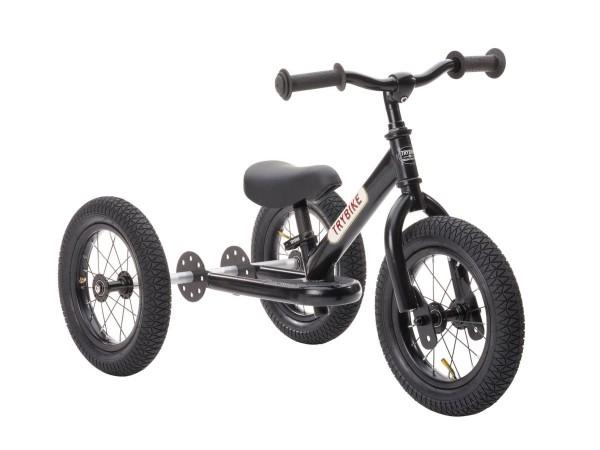 Balance-Bike Trybike Steel schwarz