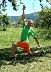 Core Training Ausfallschritt mit Drehung