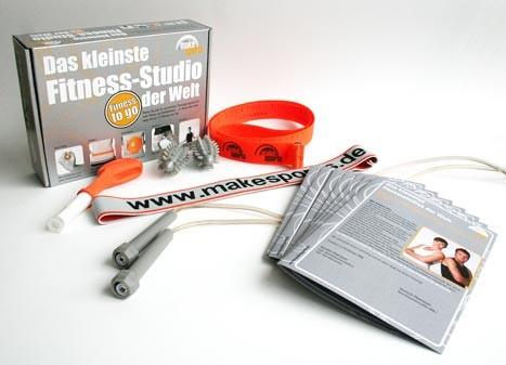 Das kleinste Fitness-Studio der Welt - Fitness to go!