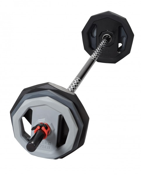 Langhantel Premium Pump-Set 18,5kg