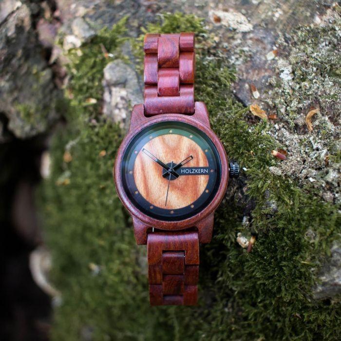 Holzkern Armbanduhr Uluru