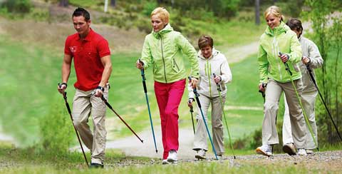 Ausdauertaining Nordic-Walking