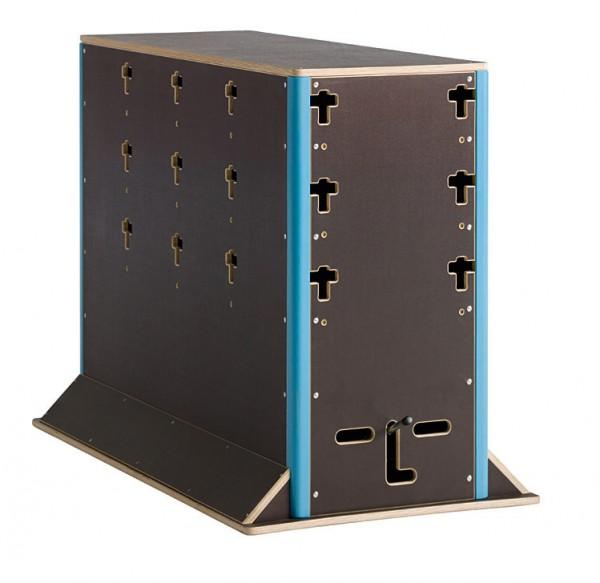 Parkour Wall groß Cube Sports  Parkoursport Schulsport Geräte Sportgeräte Sprungkasten