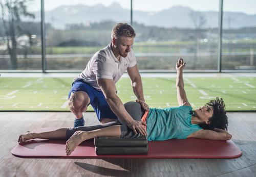 Sportmatte Therapie