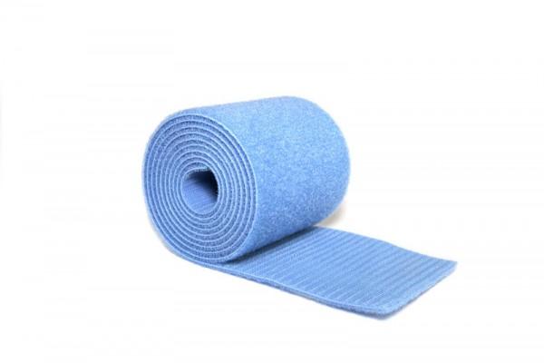 Klettband Haftband Boden Bodenturnen hellblau