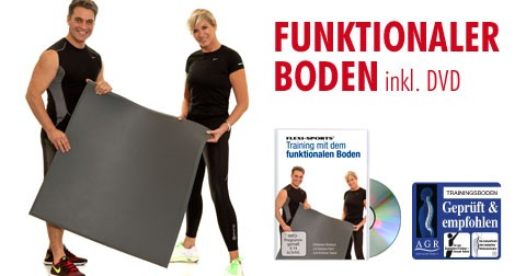 Functional Training Bodenmatte inkl. DVD