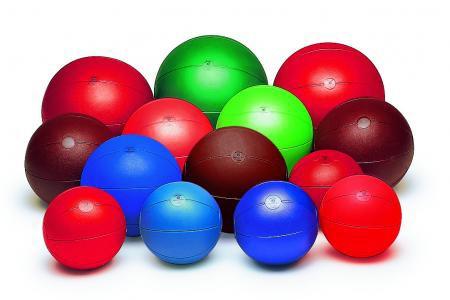 Glocken-Medizinball 3,0kg blau