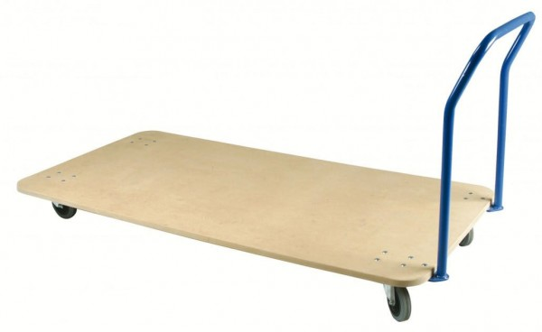 Mattenwagen Holzplatte Standard Turnmatten Bänfer