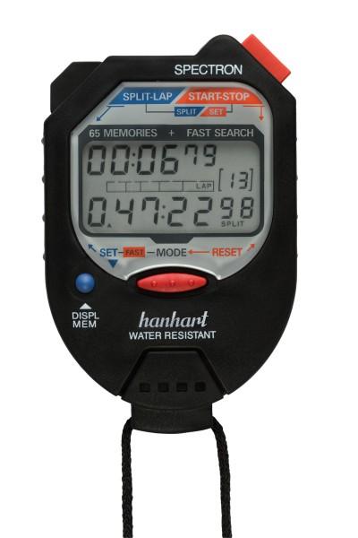 Hanhart Spectron - Digitale Multifunktions- und Speicherstoppuhr