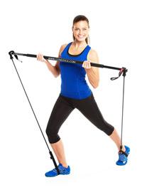 Gymstick Fitnessband mit Stab