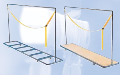 Mattentransportwagen Weichboden-Tieflader mit Holzplatte