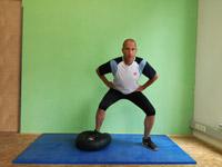 Balancetraining Ballkissen Sidestep