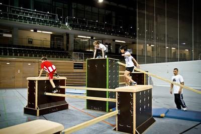 ParkourSport Kinder Cubes und Walls