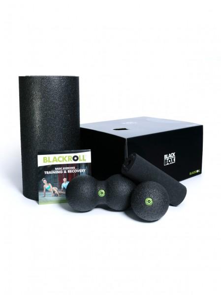 Blackroll Blackbox Set Faszienrolle Mini Duoball