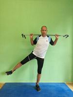 Gymstick Training Abduktoren Gesäß Bein