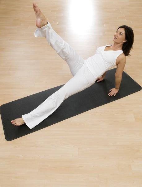 Gymnastikmatte Yoga und Pilates