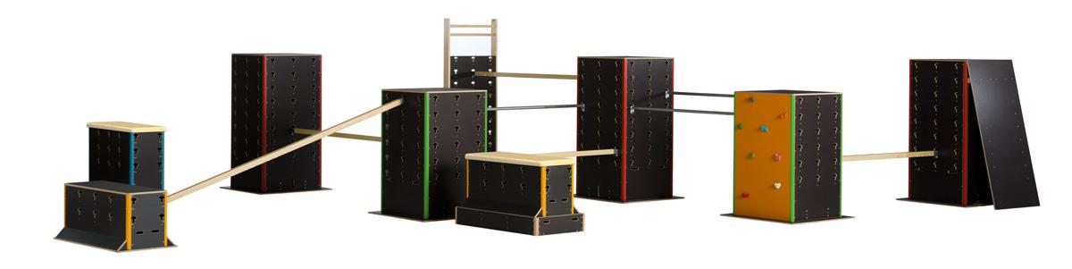 Cubes Pakoursport