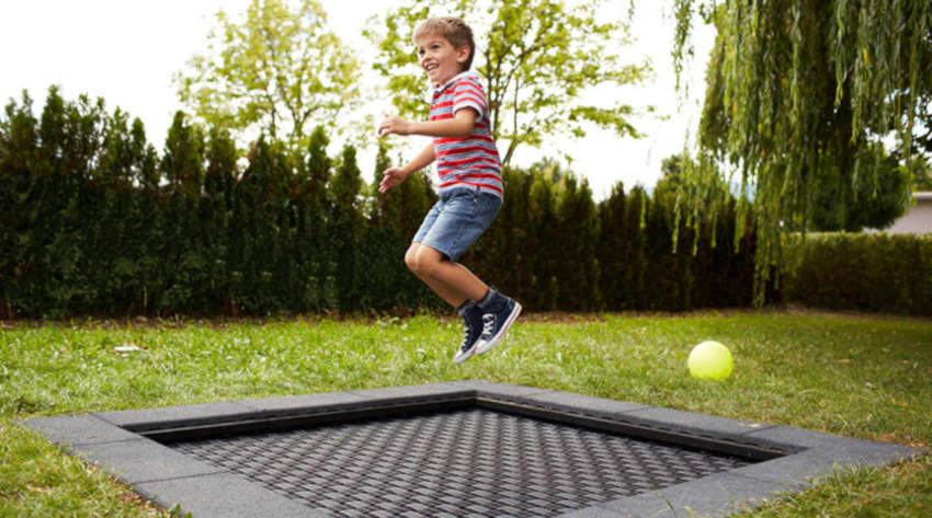 Outdoor Fitness Kids Tramp Fitness