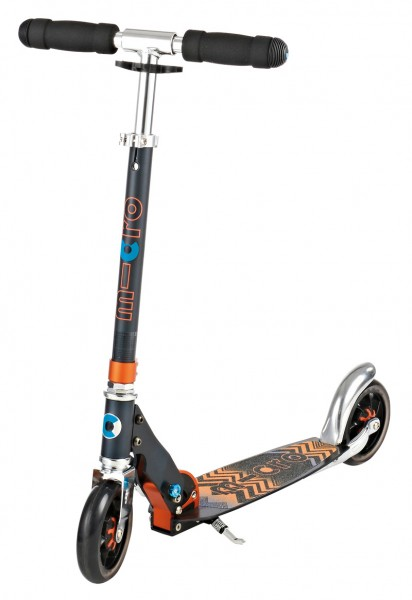 Micro Scooter Speed+ schwarz-orange