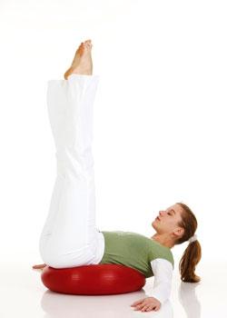 Bauch-Beine-Po Training mit dem Dynair XXL