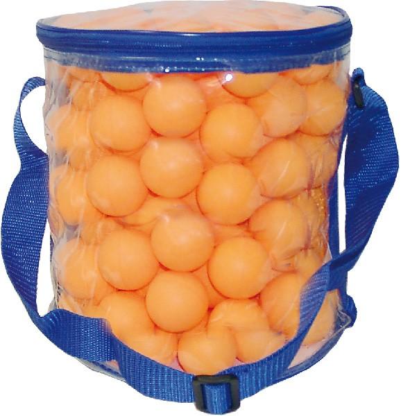 Tischtennisbälle mit Balltasche