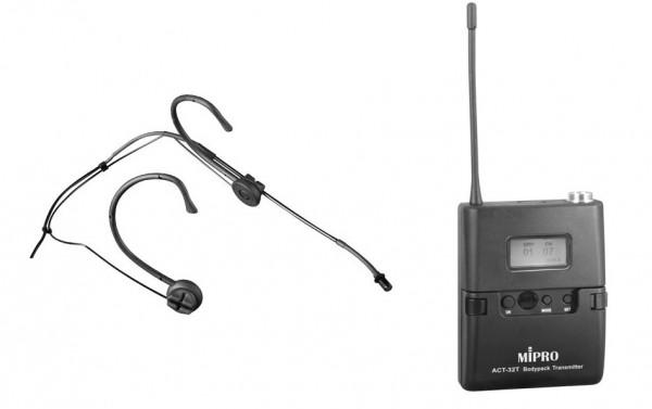 Headset-Mikrophon schwarz