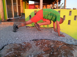 Core Training Bergsteiger
