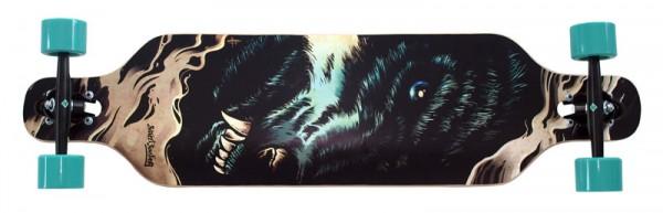 Streetsurfing Longboard Freeride Wolf Unten