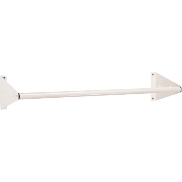 Gymnastikmattenhalterung 135cm weiß