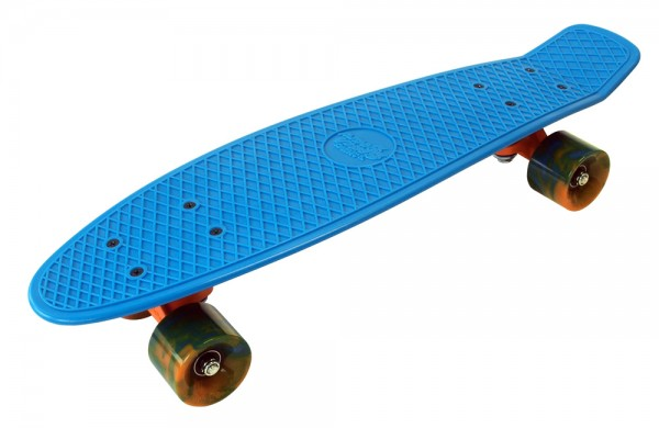 Oberseite Skateboard Beach Board Ocean Breeze blau